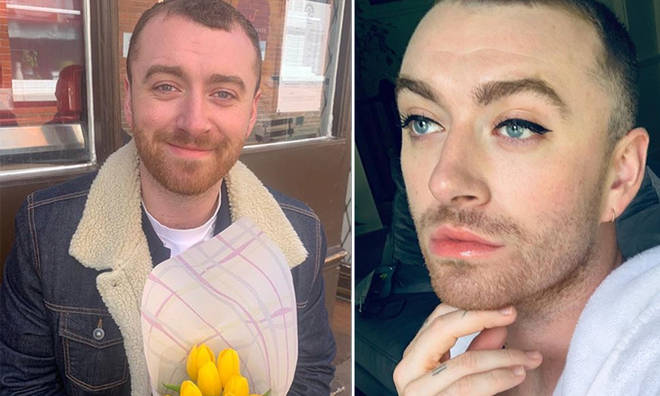 Sam Smith shared the sweet message on Instagram.