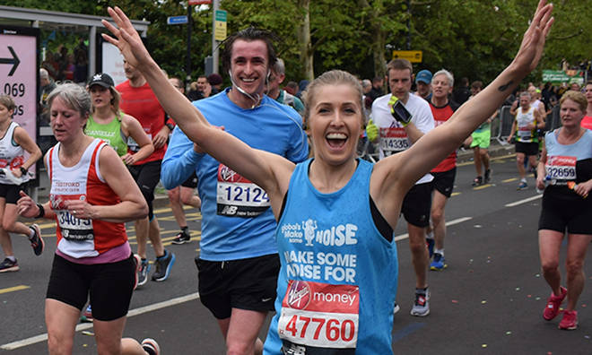 Run the London Marathon with Capital for Make Some Noise