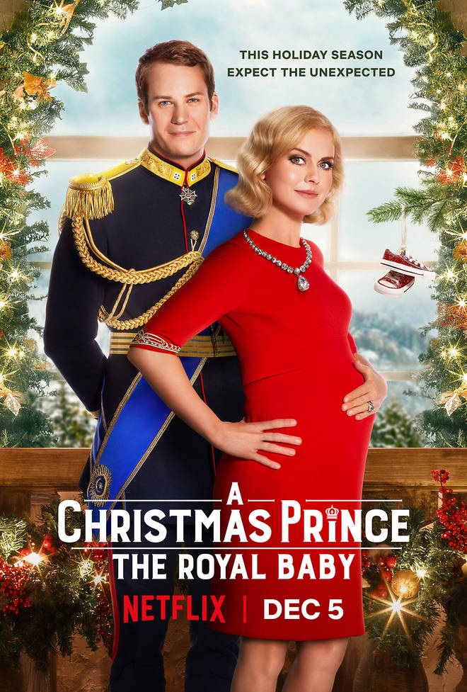 A Christmas Prince: The Royal Baby is the third part to this firm favourite film