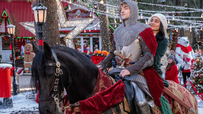 Vanessa Hudges stars in The Knight Before Christmas