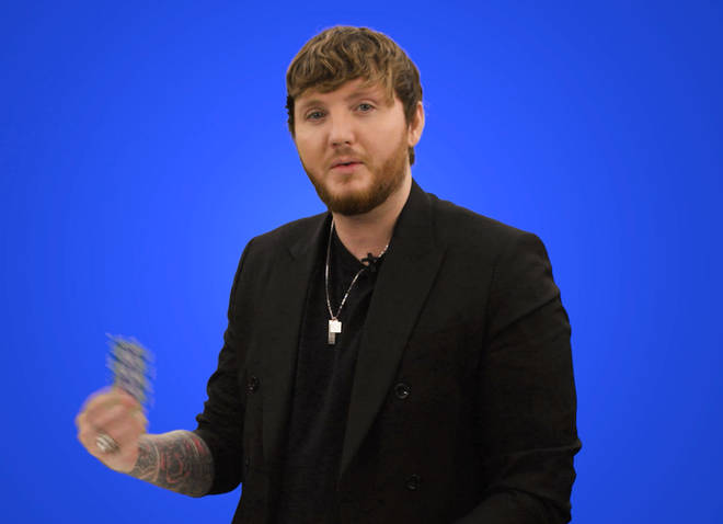 James Arthur takes on 'Finish The Lyric' on Capital