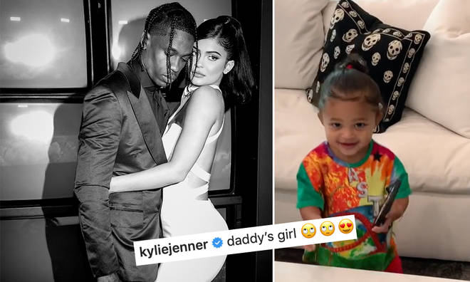 Kylie Jenner has branded Stormi a 'daddy's girl'.