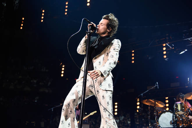 Harry Styles brought the flares back once again in 2018