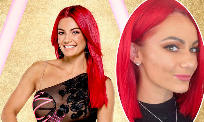 Dianne Buswell asked fans what they thought of her short hair