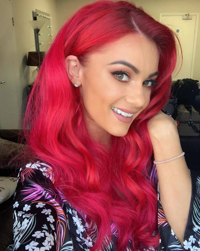 Dianne Buswell is known for her long, thick wavy hair