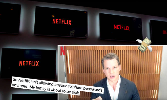 Netflix will lose out on profit if account sharing continues.