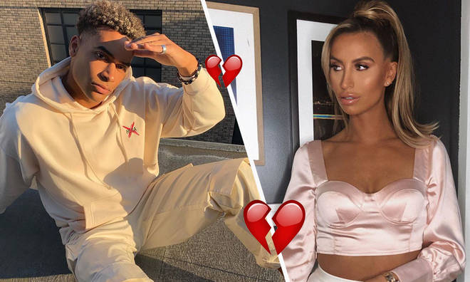 Ferne McCann admits she and Love Islander's romance was short-lived