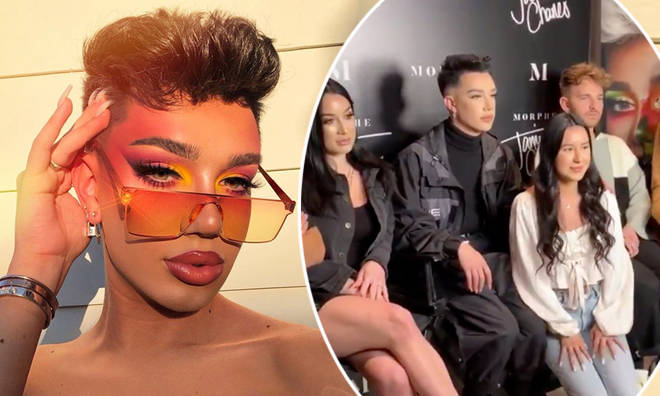 James Charles threw shade at the Dobre Brothers' meet and greet that went viral