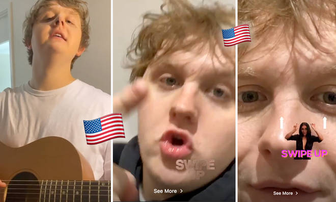 Lewis Capaldi really wants to go to number 1 in the USA