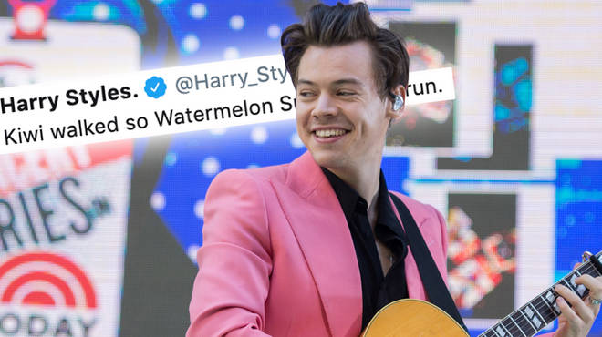 Harry Styles hinted at the name of his next single