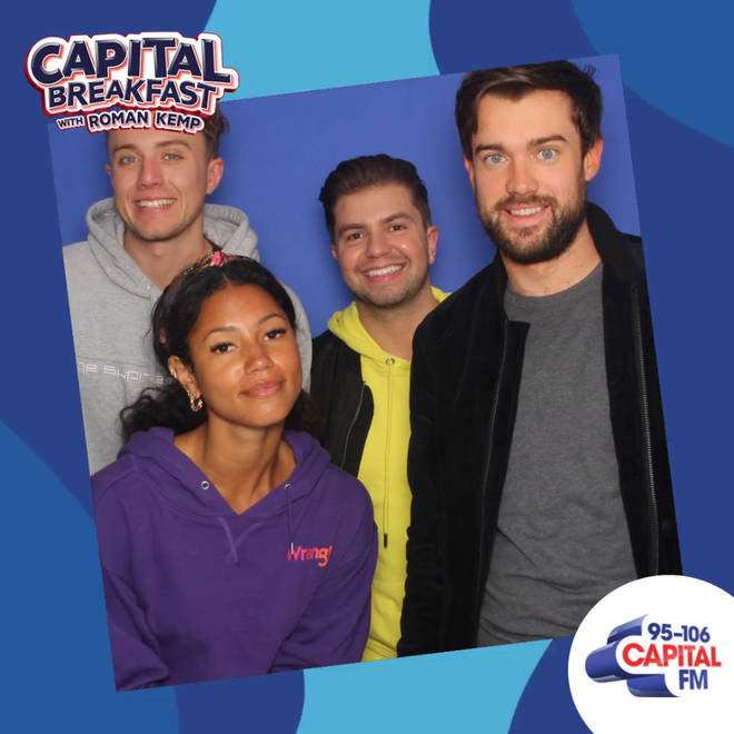 Jack Whitehall joined Capital Breakfast with Roman Kemp