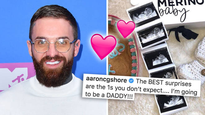 Geordie Shore star Aaron Chalmers announces he's going to be a dad