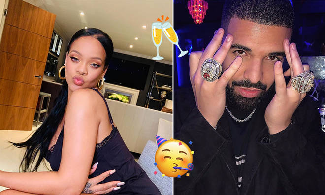 Rihanna and Drake have remained on good terms