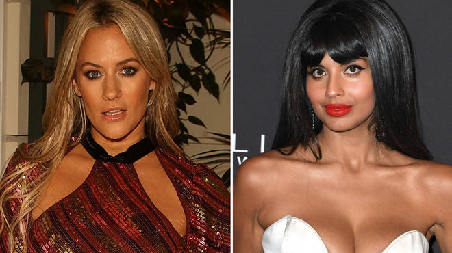 Caroline Flack and Jameela Jamil have divided opinions on The Surjury