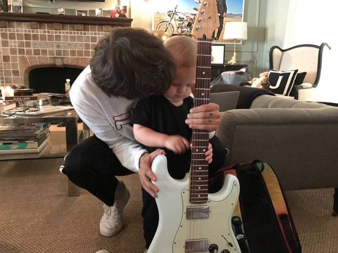 Louis Tomlinson divides his time between the UK and LA to see his son