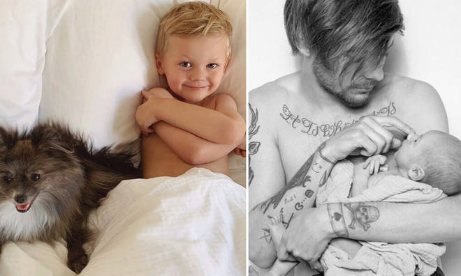 Louis Tomlinson shares his son Freddie with Briana Jungwirth.