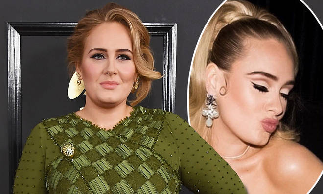 Adele left fans speechless with her beautiful new look