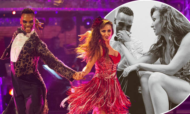 Catherine Tyldesley and Johannes Radebe lost their place in Strictly Come Dancing