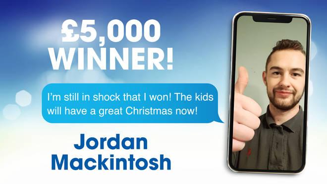 £5,000 winner