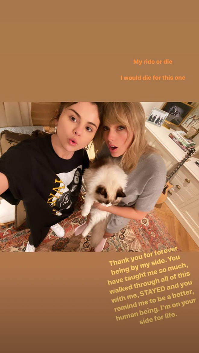 Taylor Swift gets an appreciation post from BFF Selena Gomez