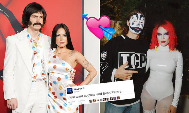 Halsey has made her relationship with Evan Peters official