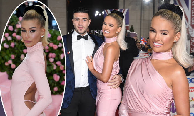 Molly-Mae Hague channelled Hailey Bieber at the Pride of Britain Awards