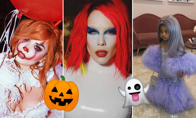 This year's round-up of best dressed celebs at Halloween