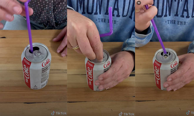 The secret to keep your straw straight