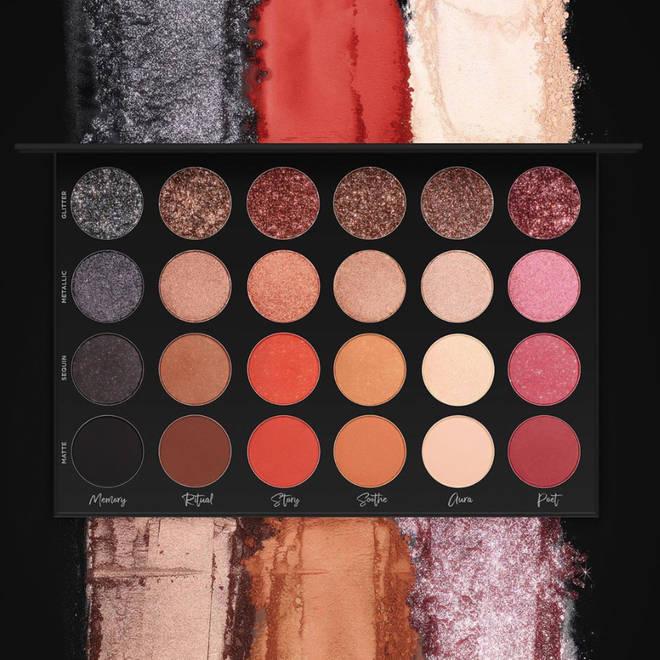 Tati Westbrook dropped her eyeshadow palette on 25 October
