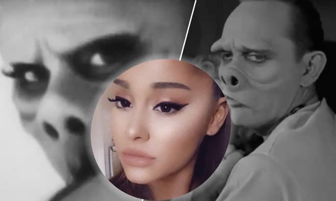 Ariana Grande goes out all for Halloween