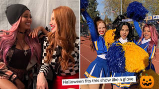 Riverdale's Madelaine Petsch & Vanessa Morgan have opened up about season 4