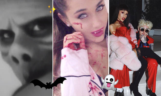 Ariana Grande has debuted a variety of iconic costumes