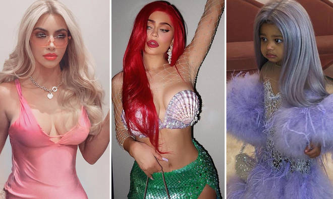 Halloween Kim Kardashian.Kardashian Halloween Costumes 2019 All Their Killer Looks From Kim And Kourtney To Capital