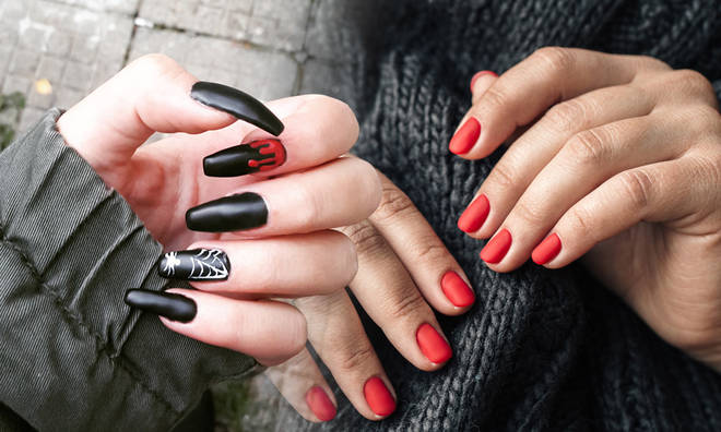 A Halloween manicure doesn't have to be difficult