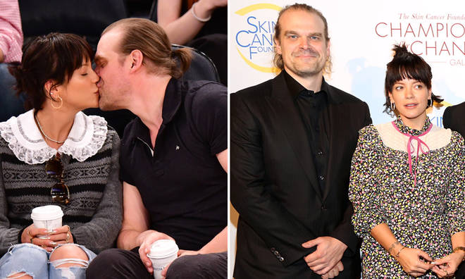 Lily Allen and David Harbour have been dating since the summer