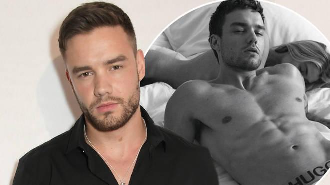 Liam Payne and Stella Maxwell posed in their underwear for Hugo