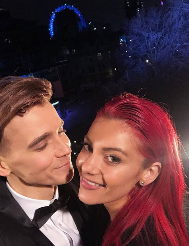 Joe Sugg and Dianne Buswell confirmed their romance once Strictly ended