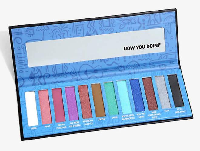 Friends fanatics can get their hands on an eyeshadow palette