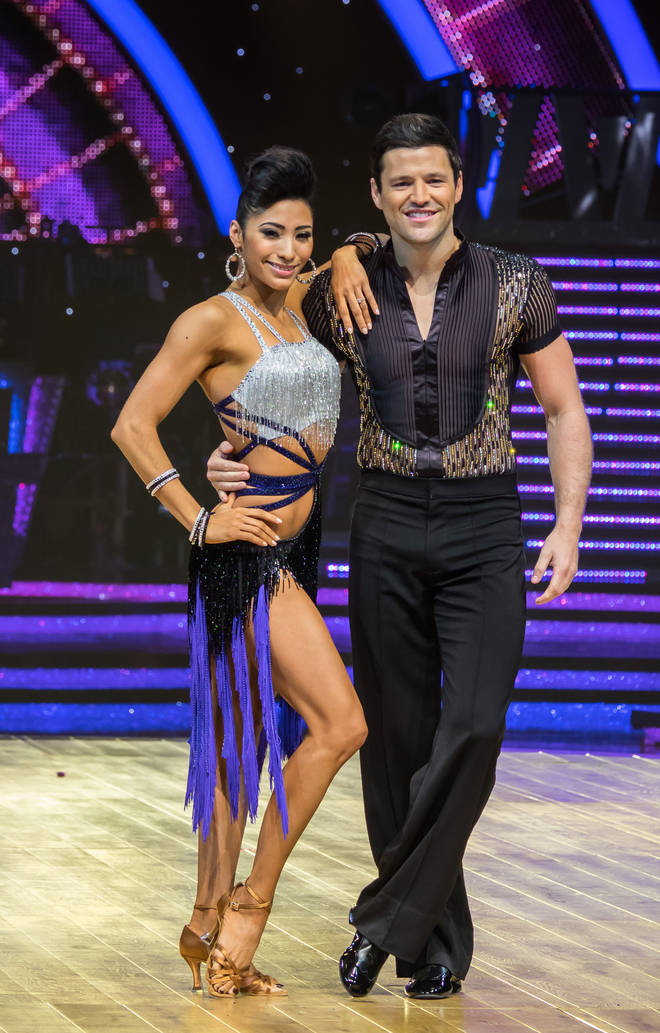 Mark Wright competed in Strictly in 2014