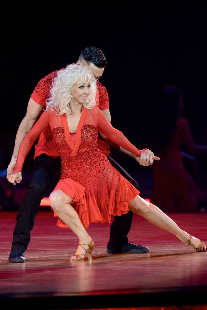 Debbie McGee wowed Strictly viewers in 2017