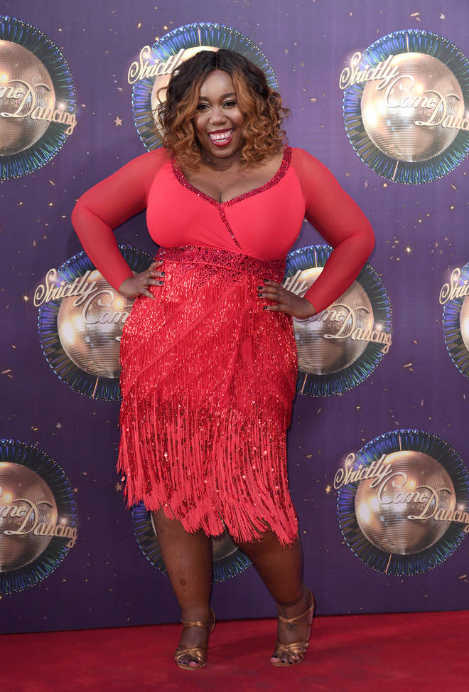 Chizzy Akudolu took part in Strictly 2017