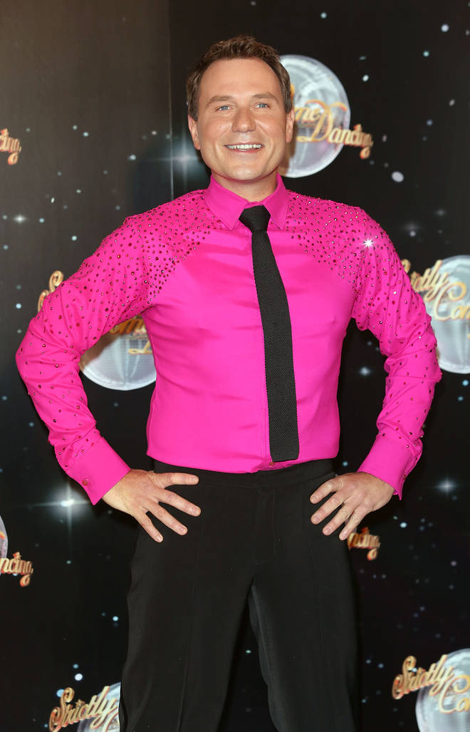 Richard Arnold competed on Strictly in 2012