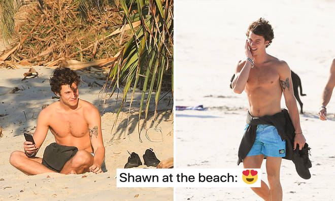 Shawn Mendes has been hanging out with his friends in Byron Bay