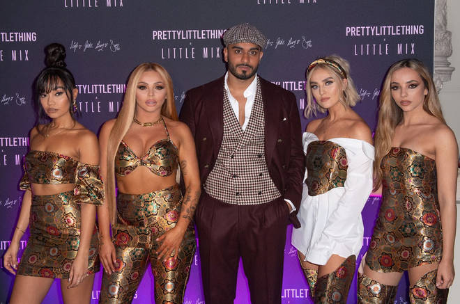 PrettyLittleThing threw a huge party for Little Mix