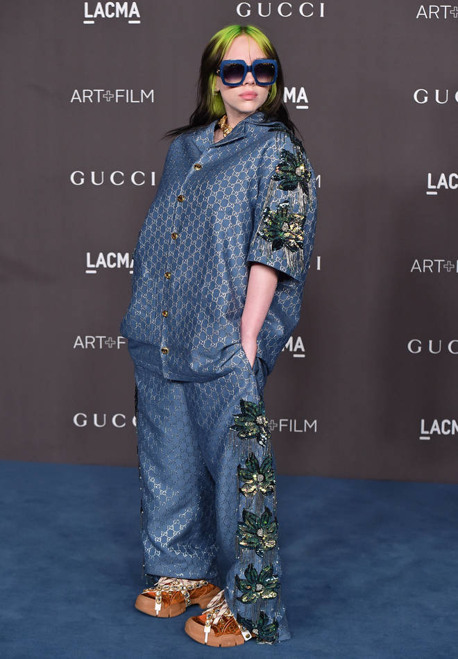 Billie Eilish attended the LACMA Art + Film Gala