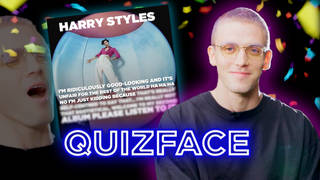 Lauv plays Capital's Quizface with Jimmy Hill