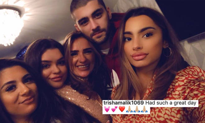 Zayn Malik hasn't been home in a while as he lives in the US