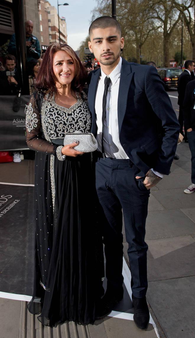 Zayn Malik is very close with his mum