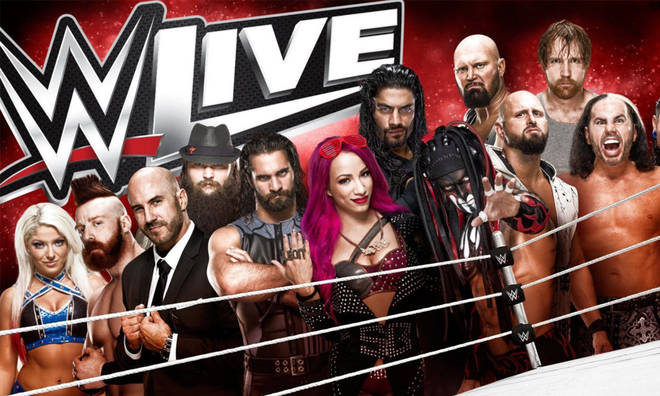 Wwe Events 2020 Schedule.Wwe Live Heads Out On A 2020 Uk Tour Find Ticket Venue