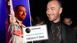Sam Smith clapped back at homophobic troll and it was amazing